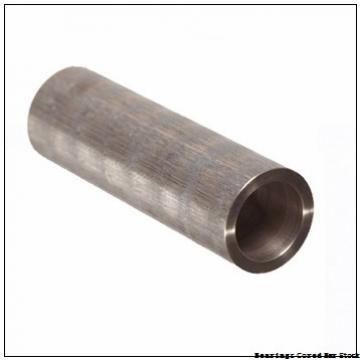 Oilite CC-2201-3 Bearings Cored Bar Stock