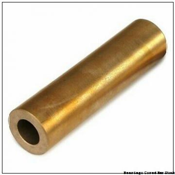 Oilite CC-1302 Bearings Cored Bar Stock