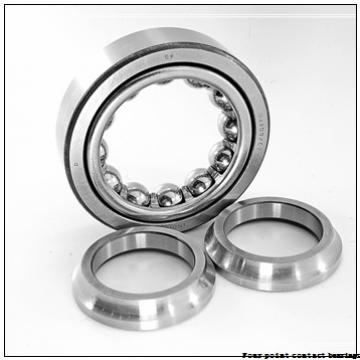 4 Inch   101.6 Millimeter x 4.5 Inch   114.3 Millimeter x 0.25 Inch   6.35 Millimeter  Kaydon KA040XP0 Four-Point Contact Bearings