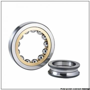 85 mm x 180 mm x 41 mm  FAG QJ317-N2-MPA Four-Point Contact Bearings