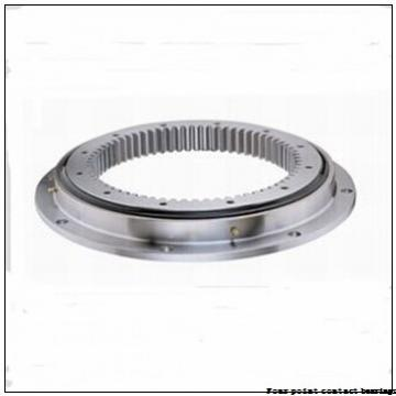 35 mm x 80 mm x 21 mm  FAG QJ307-TVP Four-Point Contact Bearings