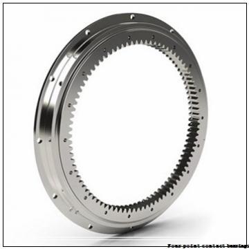 55 mm x 100 mm x 21 mm  FAG QJ211-TVP Four-Point Contact Bearings