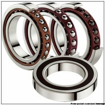 40 mm x 90 mm x 23 mm  FAG QJ308-TVP Four-Point Contact Bearings